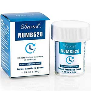 Ebanel Numb Numbing Cream for Painkilling
