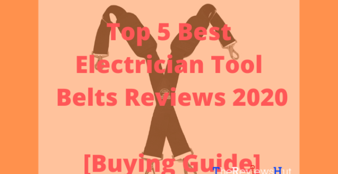 best electrician tool belts